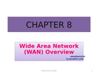 Chapter 7 WAN Overview.ppt