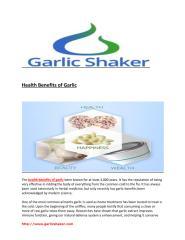 Health Benefits of Garlic.pdf